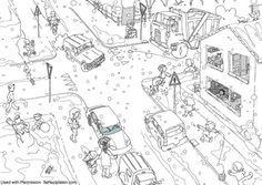 traffic for coloring - Căutare Google
