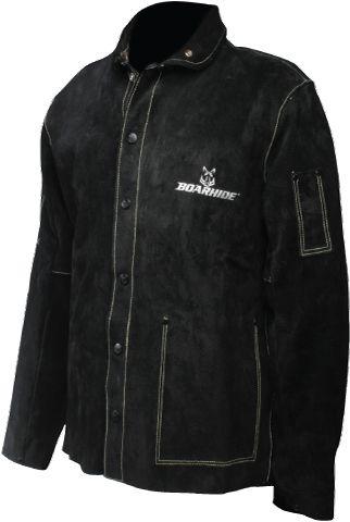 Black caiman welding jacket.