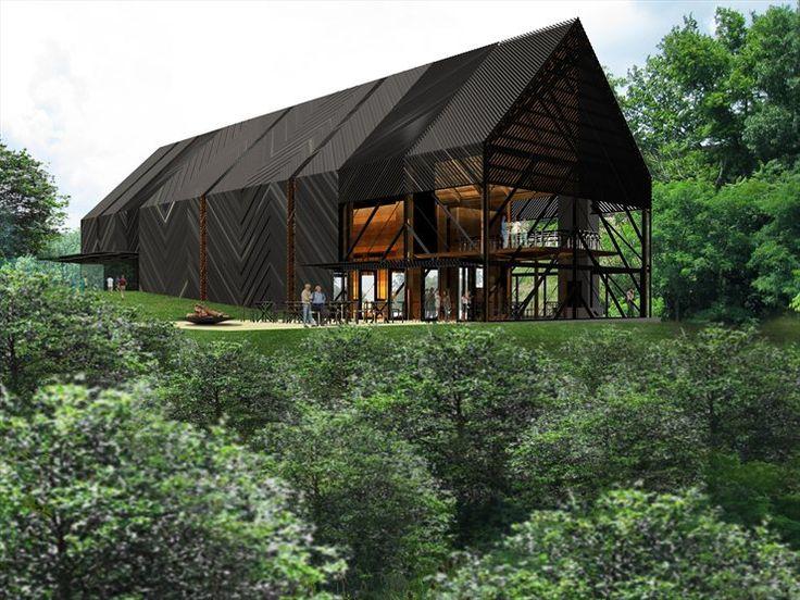 Wild Turkey Bourbon Visitor Center #architecture #design #kentucky