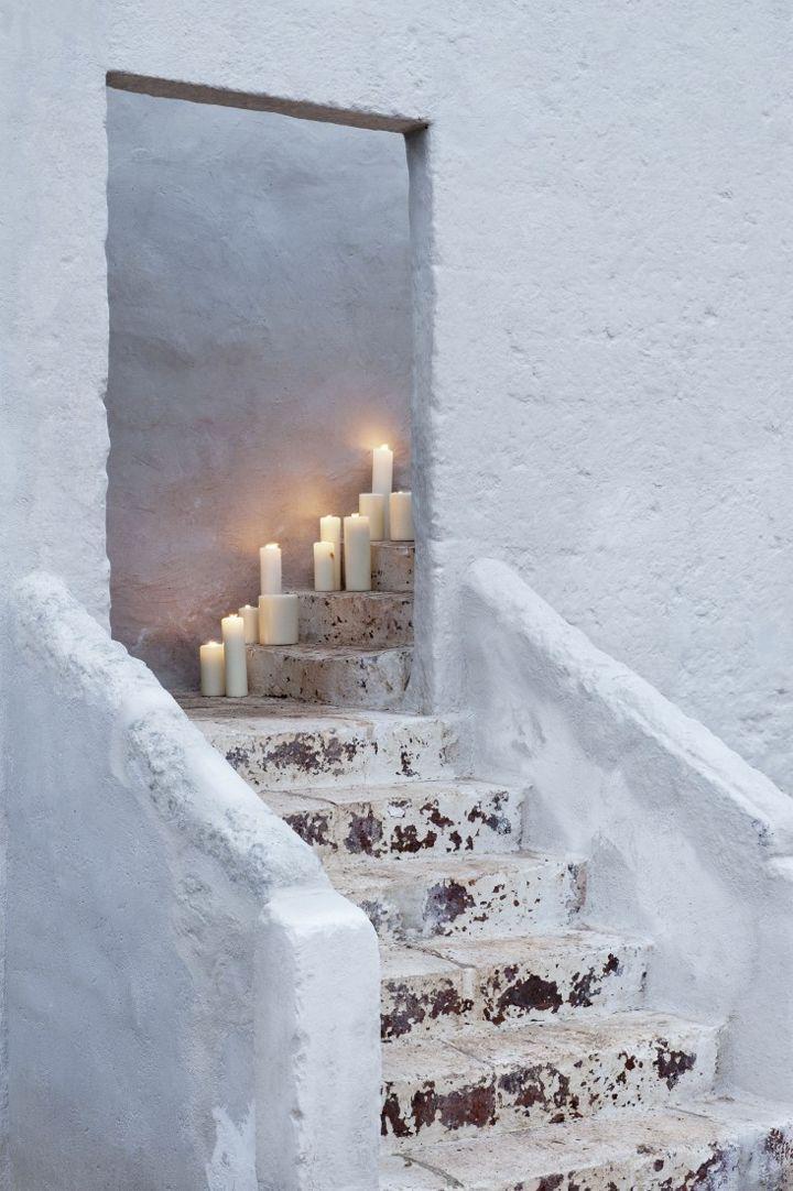 de kaarsen van YOTH interieur Den Bosch