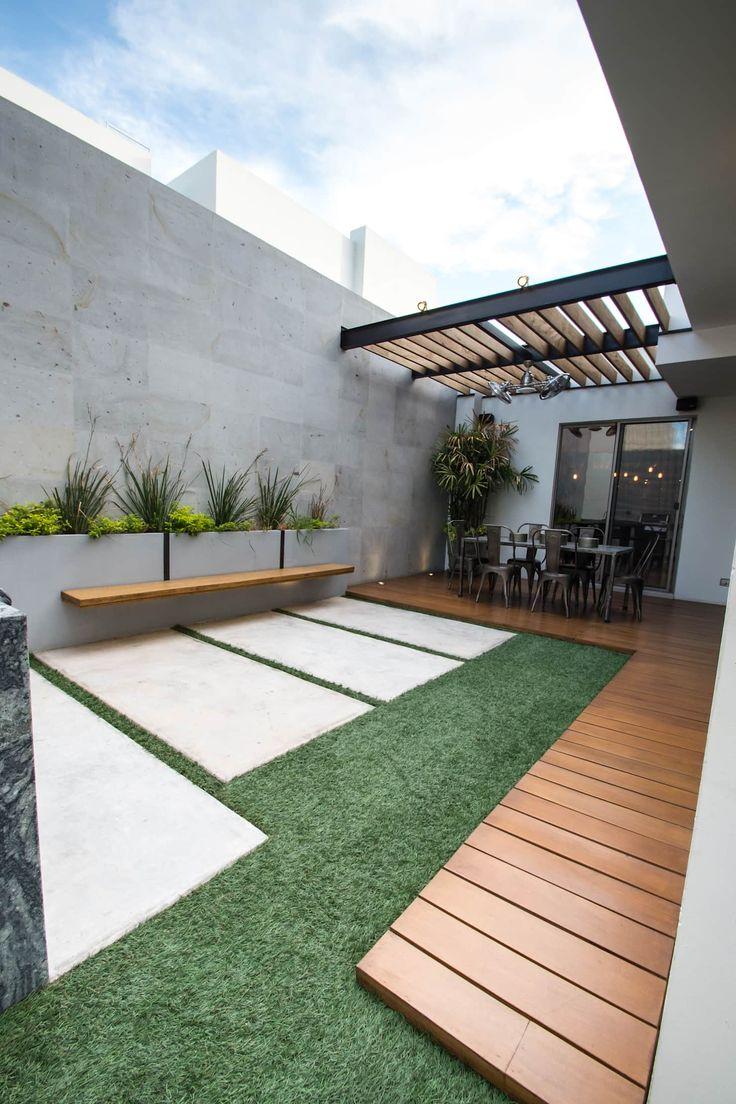 Terrasse de style par tamen arquitectura, moderne
