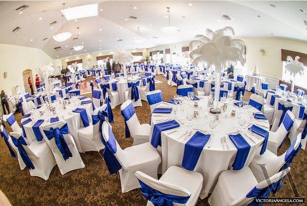 salle mariage bleu - Recherche Google  tables  Pinterest  Mariage