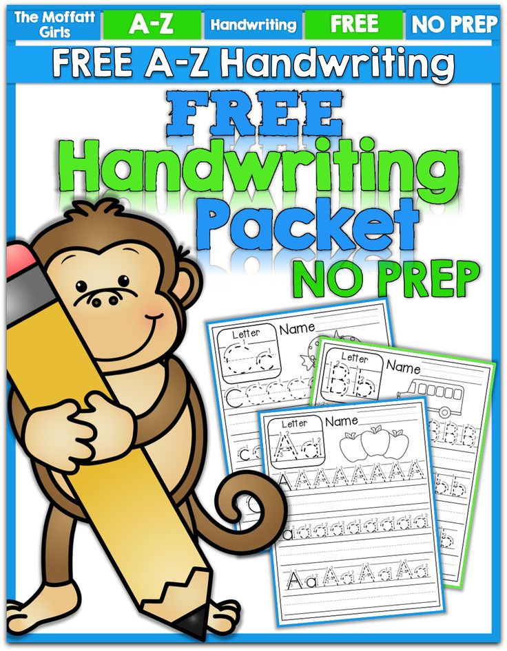 I am so excited to share with you a new FREEBIE! I needed to make a handwriting packet for the littlest Moffatt Girl who is ready to practice! I wanted to share these for FREE as a thank you for following The Moffatt Girls on Facebook! You can grab it here in our TPT Store!...