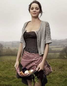 Damn you, Marion Cotillard. So gorgeous.