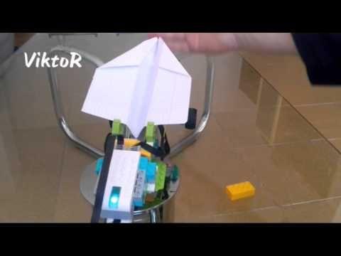 Lego WeDo 2.0 Rocket Launcher Lanzacohetes - YouTube