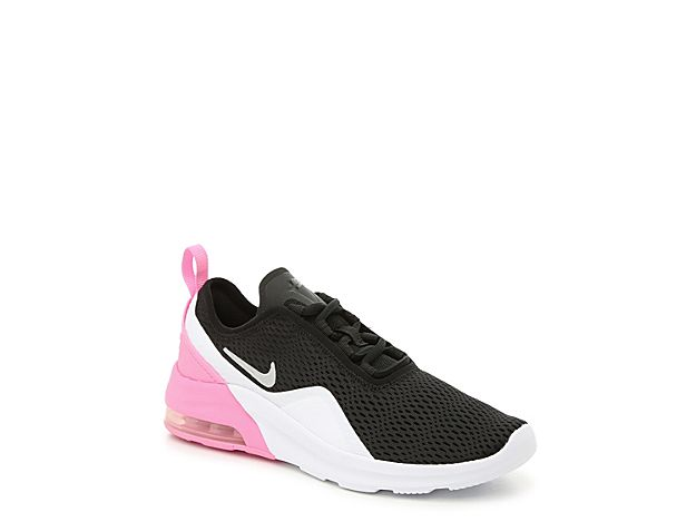 5852b88c Girls Air Max Motion 2 Youth Sneaker -Black/Pink in 2019 | Cute ...