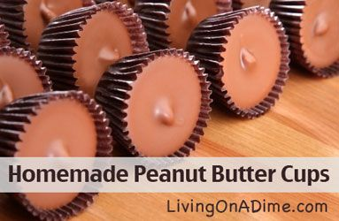 Peanut Butter Cups and Toffee Recipes