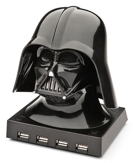 Vader USB Hub: Darth Vader, Cool Gadgets, Vader Usb, Stars War, Dark Side, Hub Usb, Usb Hub, Tribal Shoulder Tattoo, Starwars