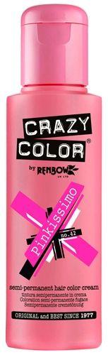 coloration crazy color pinkissimo teinture rose cheveux semi permanente pour une - Coloration Semi Permanente