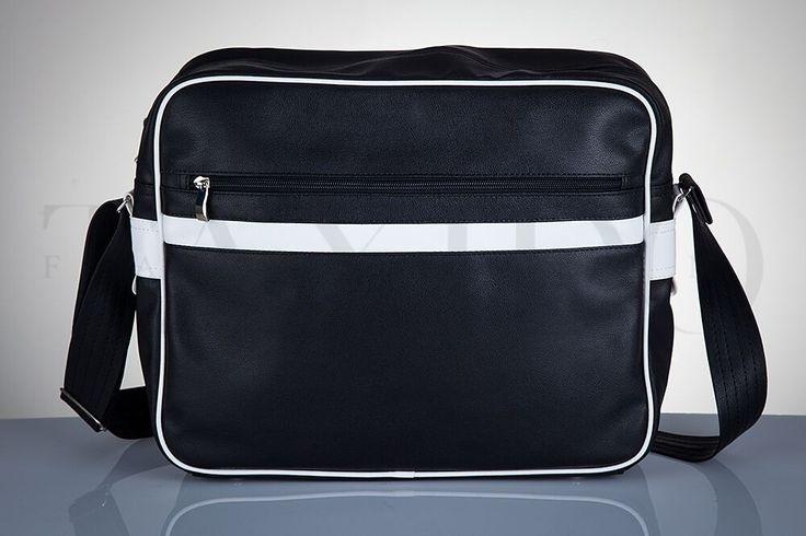 Pánská taška přes rameno - School, černá