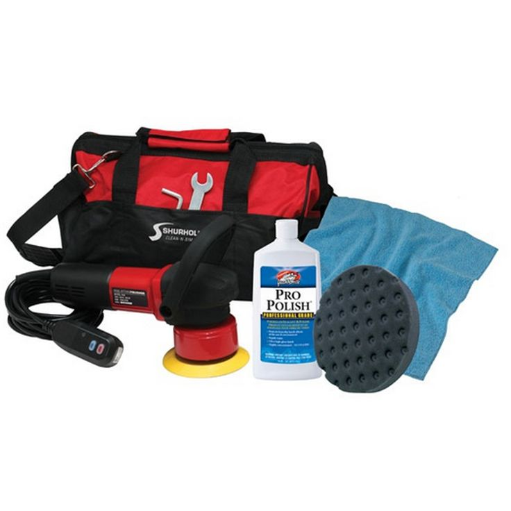Shurhold Dual Action Polisher Start Kit w/Pro Polish, Pad & MicroFiber Towel - https://www.boatpartsforless.com/shop/shurhold-dual-action-polisher-start-kit-wpro-polish-pad-microfiber-towel/