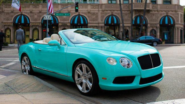 Aj95 Bentley Blue Drive Car