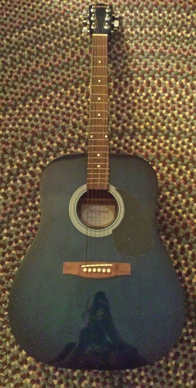 Johnson acoustic guitar