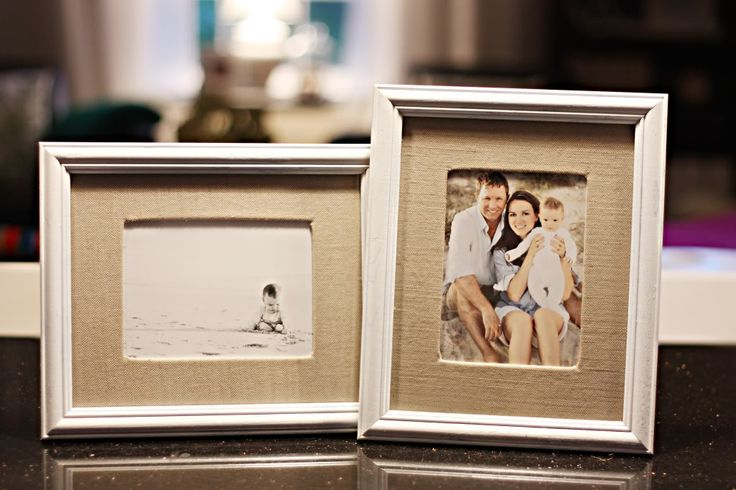 Guess who's making  a Good Will run this weekend?  I'm embarrassed to admit how much I have spent on Pottery Barn burlap frames in the past.  For the cost of one I could have done an entire wall of these.  Ugh.