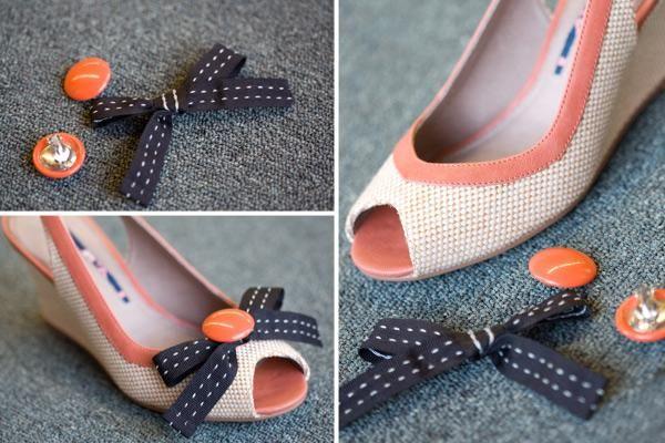 100 best diy shoes sandals flip flops ideas images on pinterest diy shoes refashion diy shoe clips solutioingenieria Choice Image