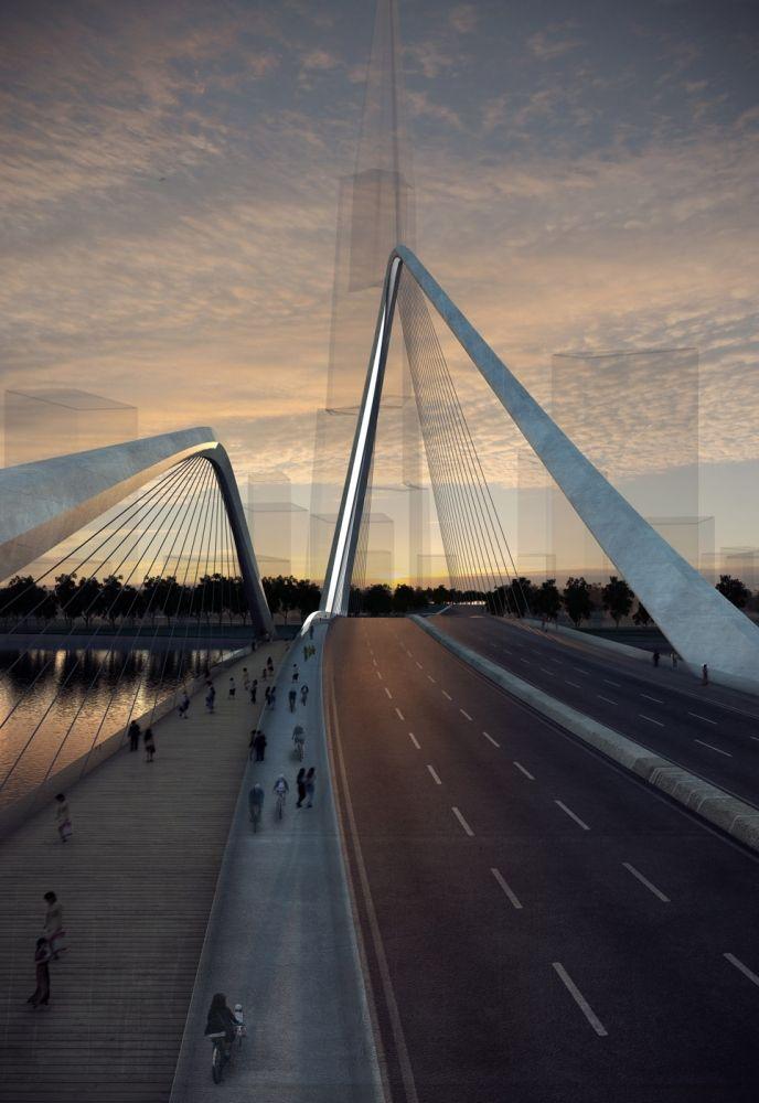 10 DESIGN Shizimen Gateway Bridge (The Infinity Loop), Zhuhai, China