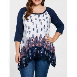 $13.22--Plus Size Tops For Women: Cute Plus Size Crop Tops & Lace Tops Fashion Sale Online | Twinkledeals.com