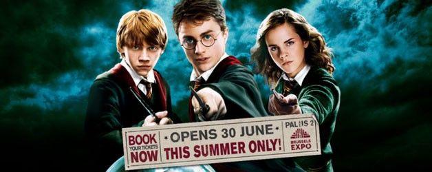 Expo Harry Potter à Bruxelles