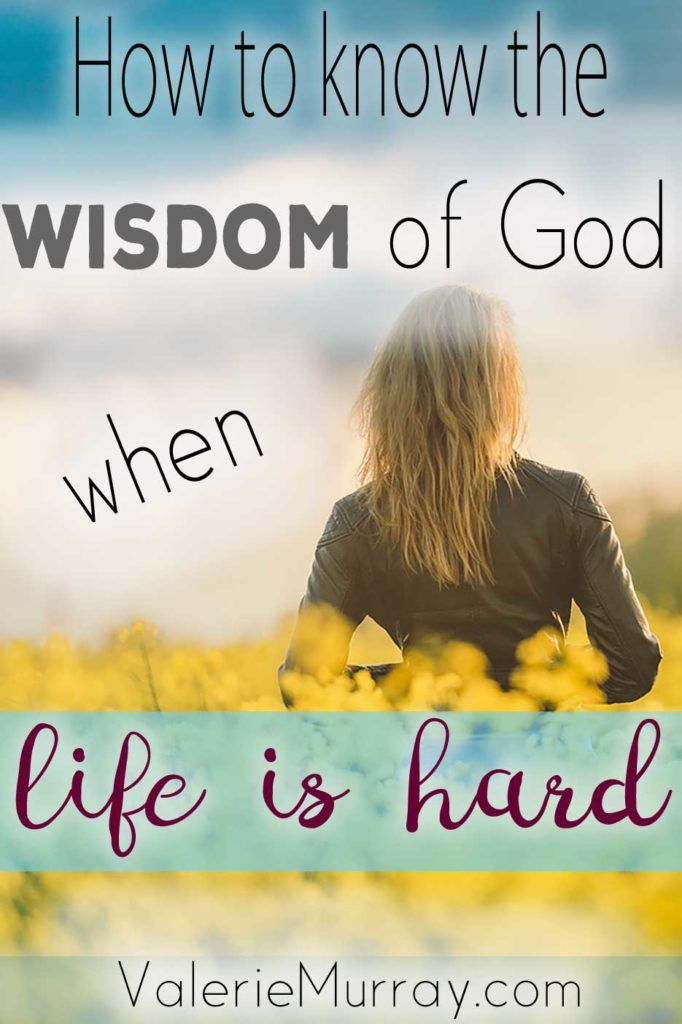 What do you do when you don't know what God wants you to do? How do we receive the wisdom of God when life is hard? Explore 4 ways to know God's wisdom. #God'swisdom #whenlifehurts #wisdomofGod