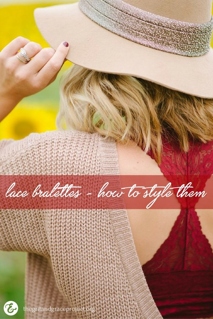 23 best how to wear bralette images on Pinterest | Lace bralette ...