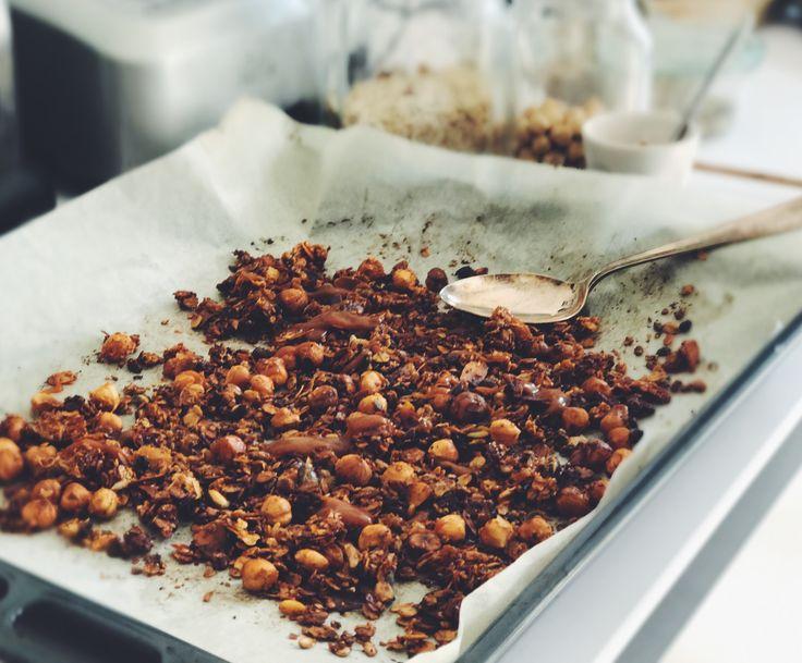 granola salted caramel