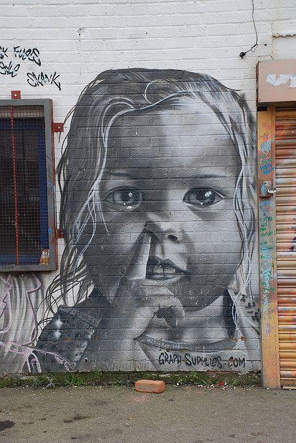 """""""Fais pas ci, fais pas ça !"""" ( Jordy ) / Street Art."""