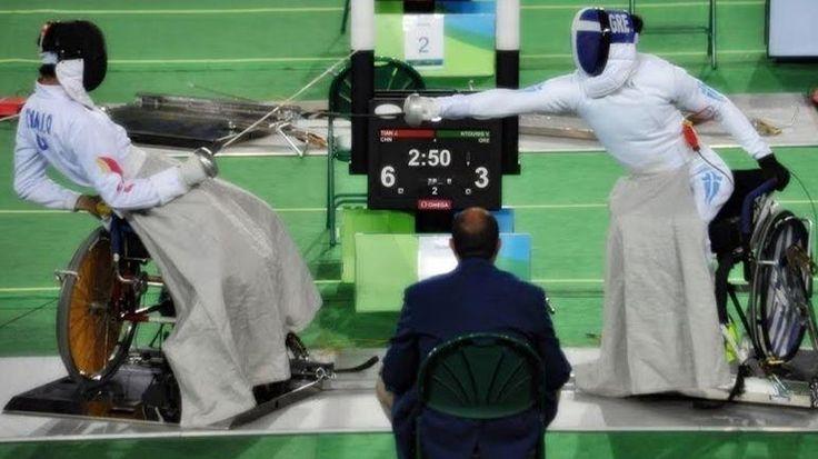 Ξιφασκία με αμαξίδιο: Χάλκινο μετάλλιο ο Ντούνης στο Παγκόσμιο Κύπελλο της Ολλανδίας