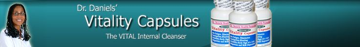 Dr. Jennifer Daniels Vitality Capsules & Candida Cleaner