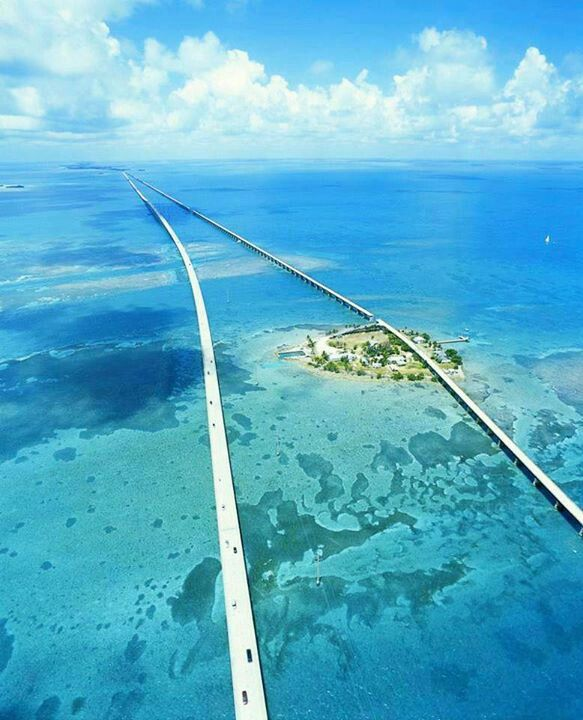 7mile bridge, Florida keys.