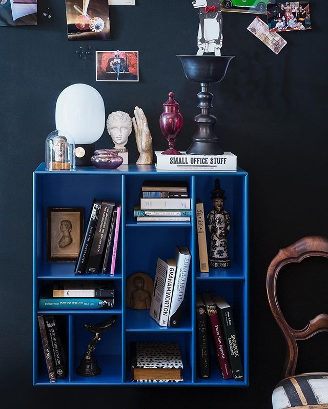 What are your shelves for? Books 📚 or personal treasures 🏆🥂🌷🏺? #danishdesign #shelves #bookshelf #homedecor #regale #wohninspiration #wohnideen #wohnzimmer #homeinspo