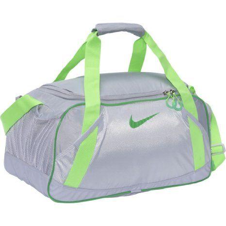 New Gym Bag Nike Varsity Girl 20 Medium Duffel Wolf Grey Neutral