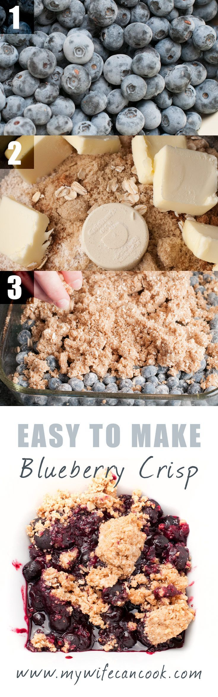 This Easy Blueberry Crisp is a great dessert when fresh blueberries are in season, but can also be made with frozen blueberries. We make frozen blueberry crisp served with vanilla ice cream on dreary winter days when we're stuck inside as a form of therapy for the winter blues and a reminder that warmer days will soon bloom. And when they do, fresh blueberry crisp! This dessert is super easy recipe to make. It's a must try in blueberry season, but you can try it with frozen blueberries as…