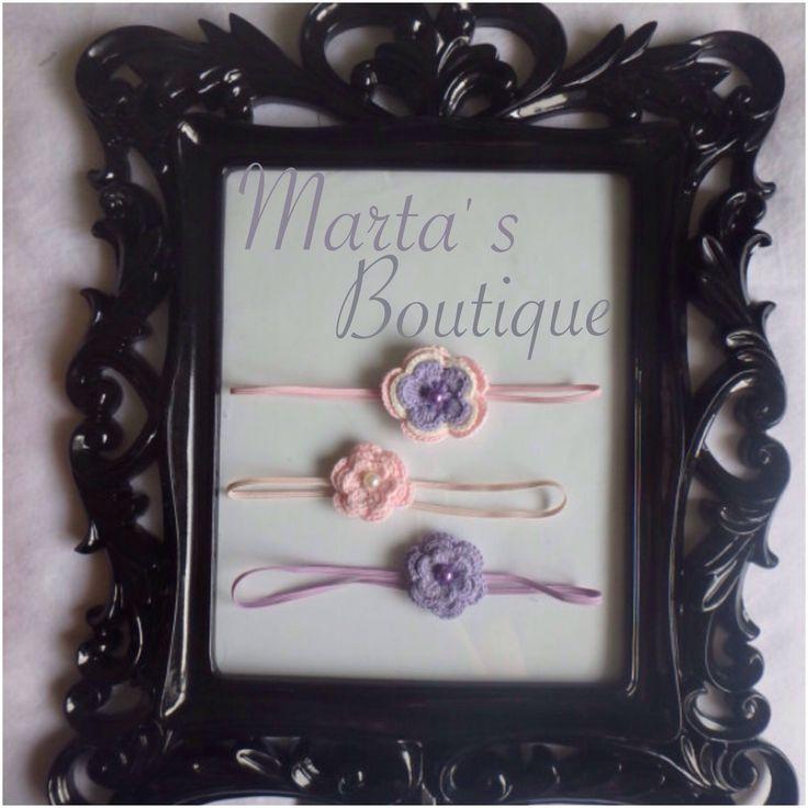 A personal favorite from my Etsy shop https://www.etsy.com/listing/228695879/crochet-flower-headband-set-of-3