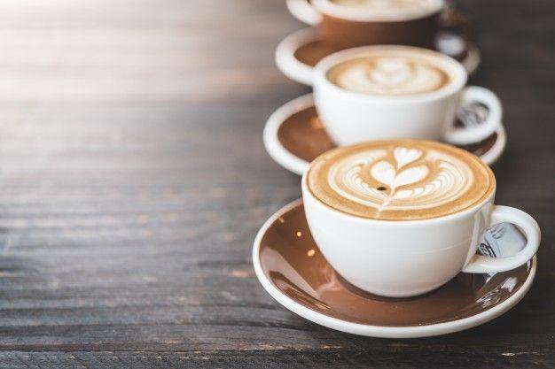 чашка кофе латте Бесплатные Фотографии