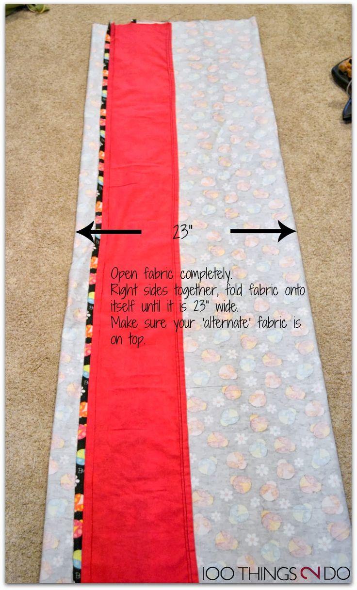 100 Things 2 Do: Pillow Mattress Tutorial