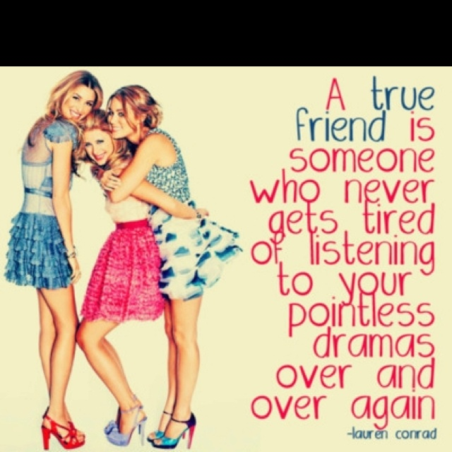 <3 Thank God for girl friends <3