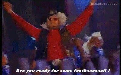 Bocephus's Are you ready for some football GIF