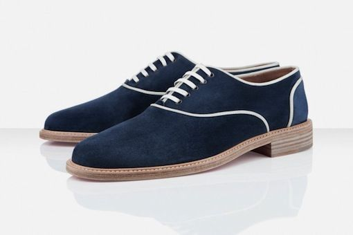 Christian Louboutin Oxford azul