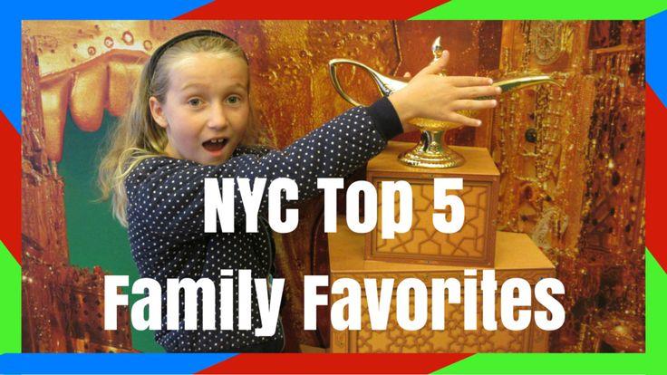 Top 5 Family Activities in NYC!