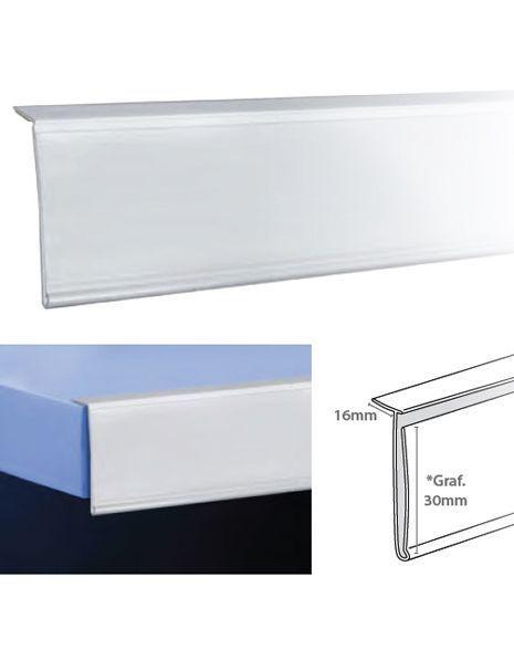 Perfil Etiquetero Porta Precio Adhesivo L-30 (25 unidades) https://doncarteltienda.es/producto/perfil-etiquetero-porta-precio-adhesivo-l-30/
