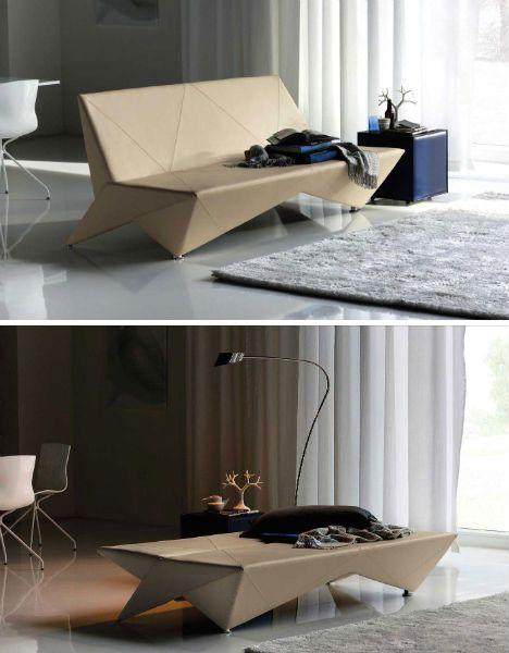 Unfolding Interior Design: Origami-Inspired Furniture