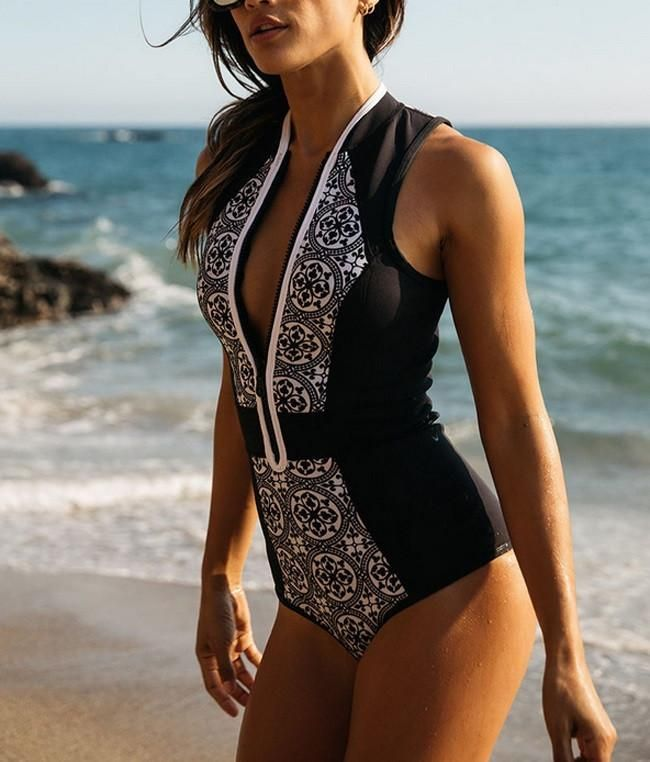 Women's Sexy 2017 Retro One Piece Swimsuit -Women's Online Shopping