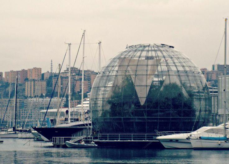 #Genova #Genoa #Liguria #Italia #Italy #PortoAntico #Biosfera #RenzoPiano