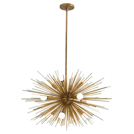Arteriors Zanadoo Antique Brass Chandelier Available In Two Diffe Sizes