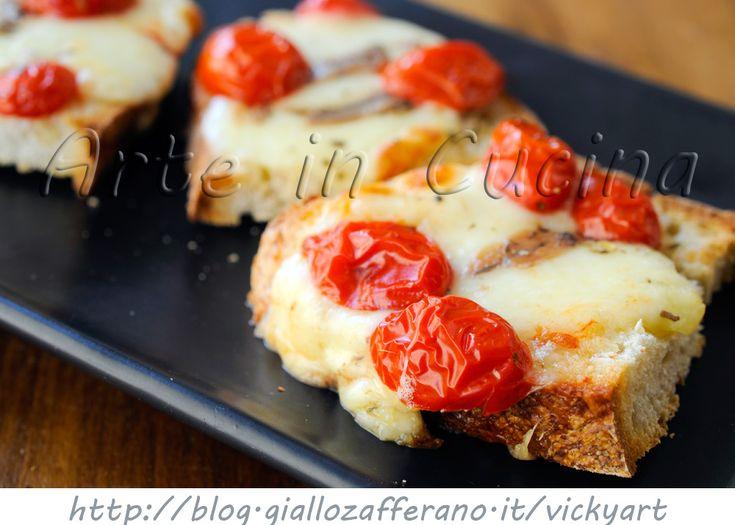 Crostoni di Napoli bruschette saporite