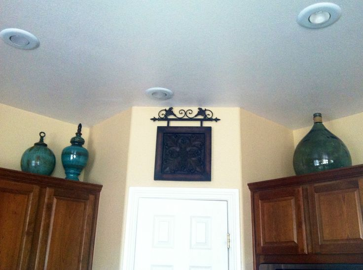 Decorating Above Kitchen Cabinets All Items I Purchased From Home Goods Hobby Lobby Home