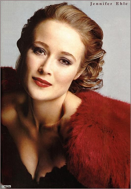 Jennifer Ehle - She was terrific in Pride and Prejudice with Colin Firth even if not very glamorous - but it's because of the hairstyles and clothes of the period.  As seen here, she definitely glams up well!  She's an underrated actress and daughter of actress Rosemary Harris.