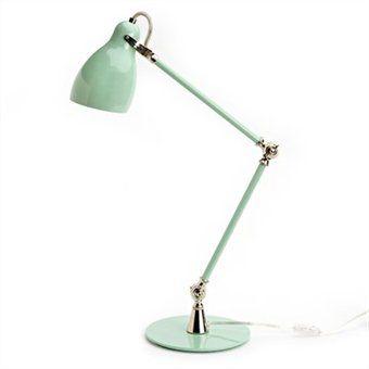 task lamp. Mint.