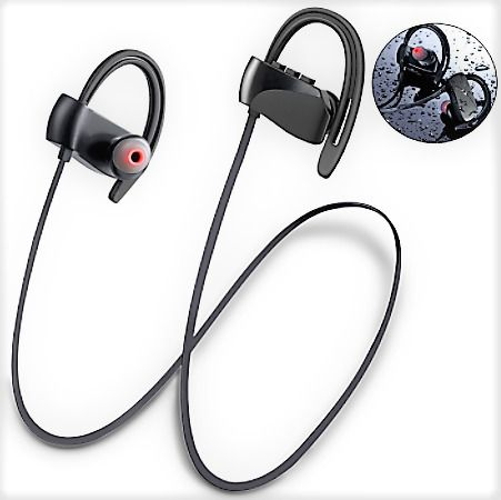 Wireless Earbud Headphones Bluetooth HD Stereo Noise Cancelling With Microphone  | eBay