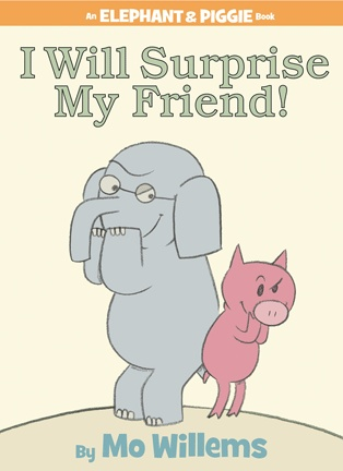 Elephant and Piggie series by Mo Willems. Great books about best friends Gerald and Piggie - appealing to ages 4 through 104. By Mo, the master.